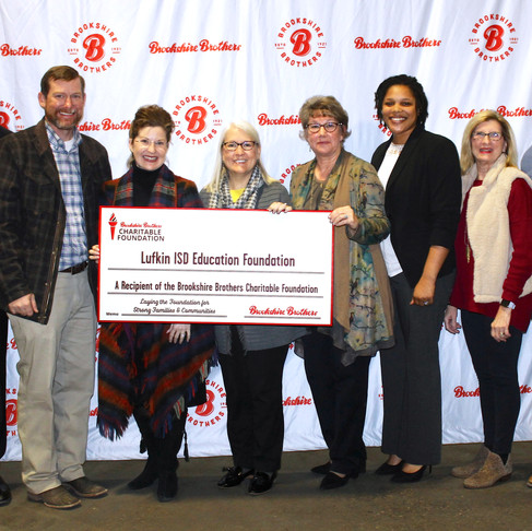 Brookshire Brothers Charitable Foundation Donates $3,000