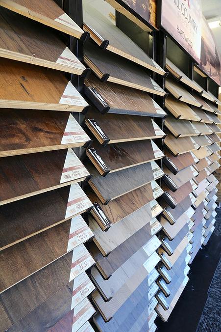 Flooring Showroom Wood Grain Hardwood Samples Flooring Store