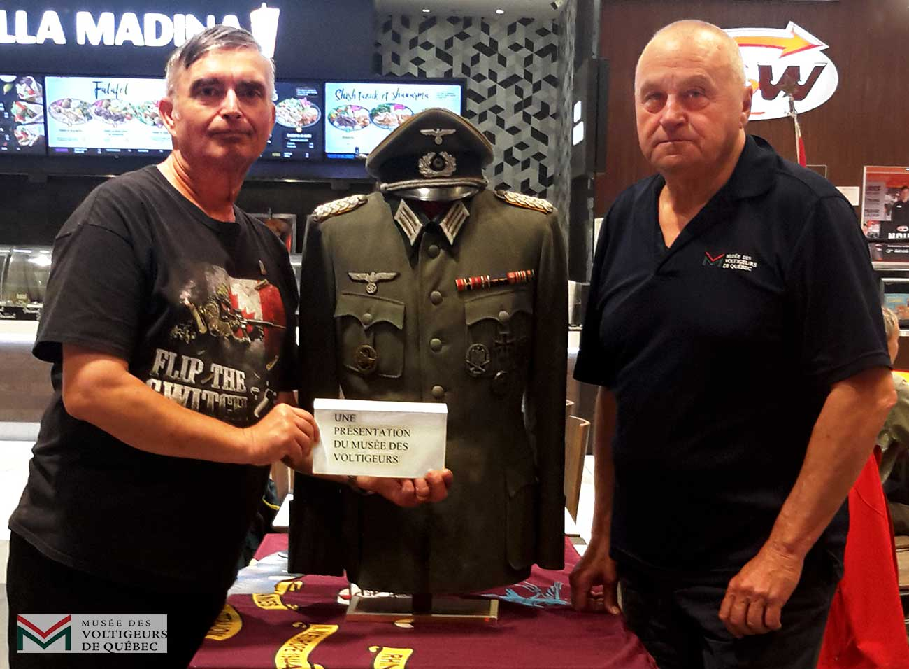 MikeRaymondVetsGermanUniform26June2019