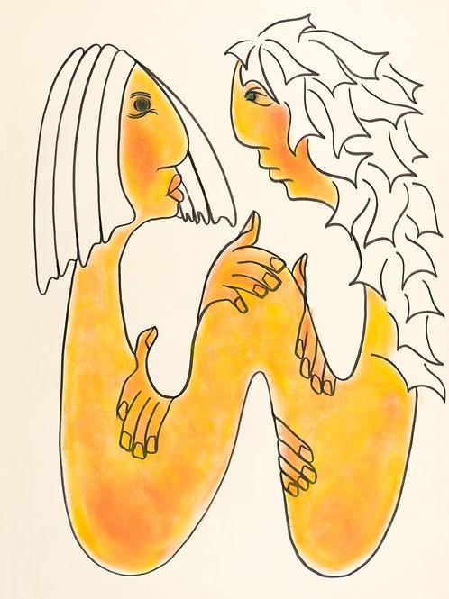 Fine Art Print - Lovers Twine