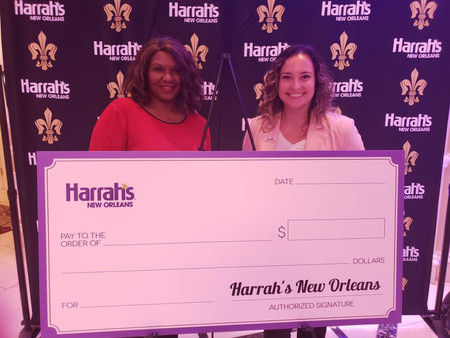 A Big THANK YOU to Harrah's and the City Council!