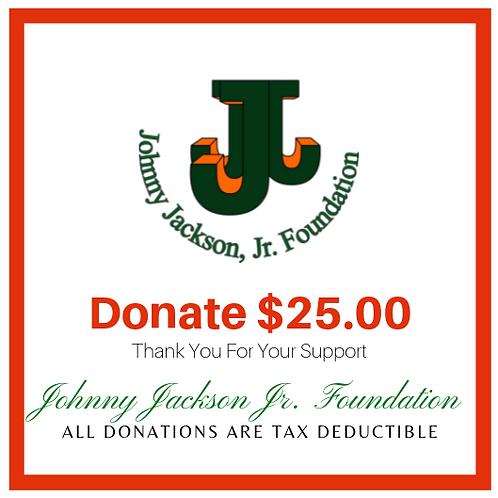 Donate $25.00 Dollars