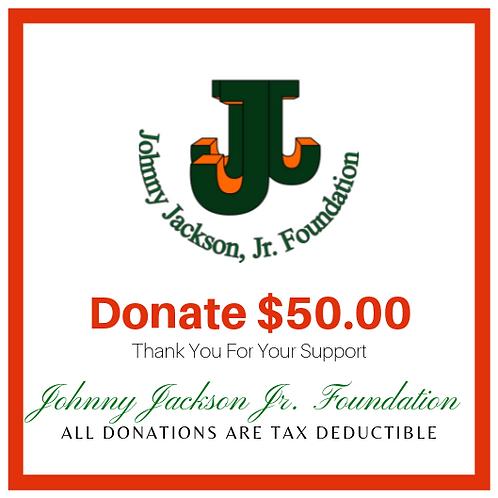 Donate $50 Dollars