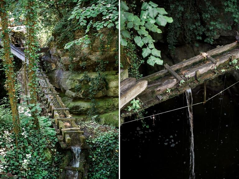 détails d'un ruisseau