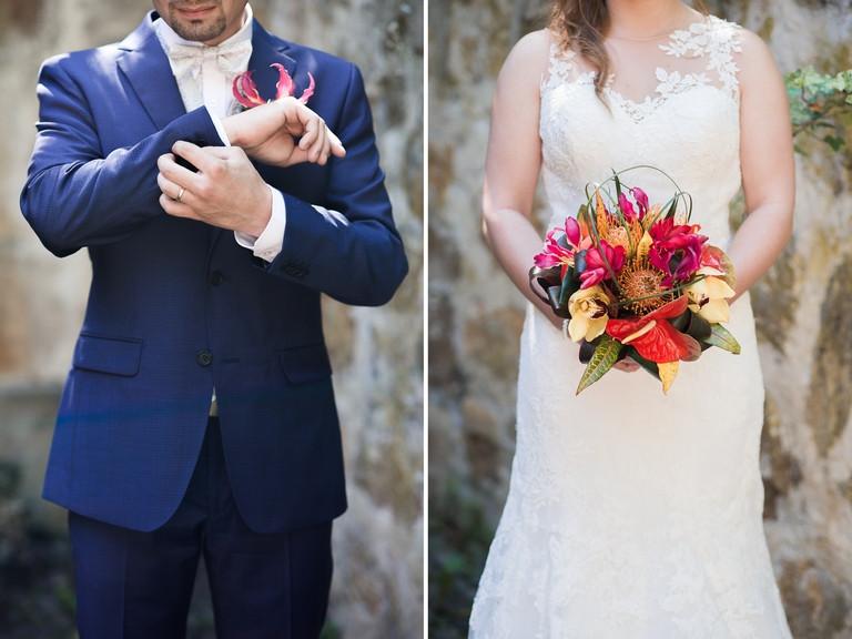 détails des mariés