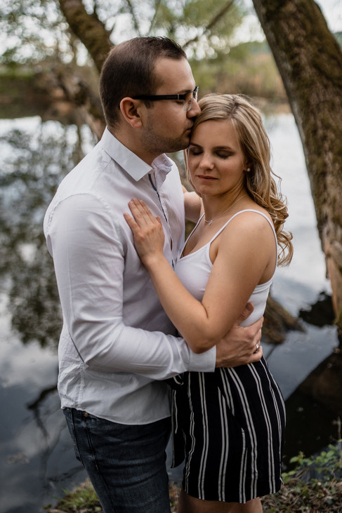 couple engagement  fiançailles