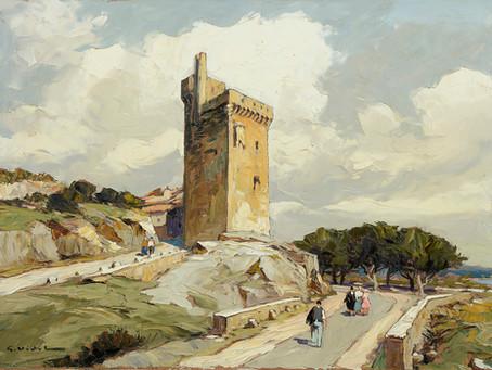 Peinture Gustave VIDAL