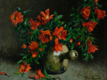 Peinture Marius ROUX-RENARD