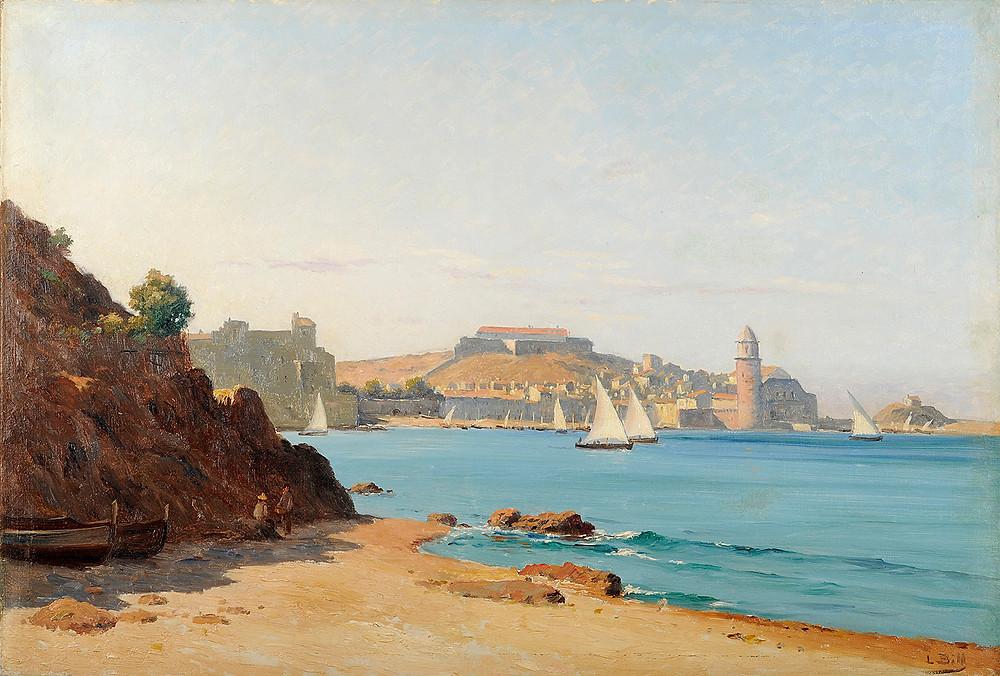 Peinture Lina BILL Port de Collioure