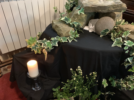 Christ is risen! Alleluia! Happy Easter.