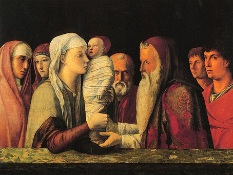 The Presentation of Christ in the Temple (Candlemas) 2nd February