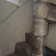 Norman stairs to organ loft.JPG