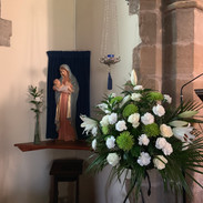 Our Lady & Easter flowers 2019.jpg