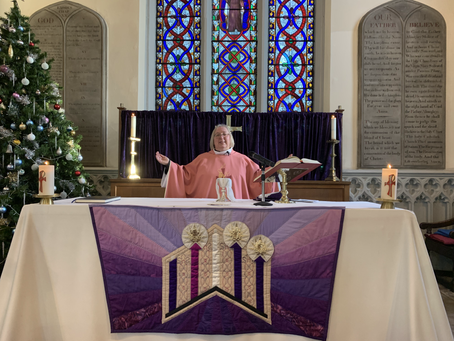 Service of the Word for the 3rd Sunday of Advent 13th December 2020
