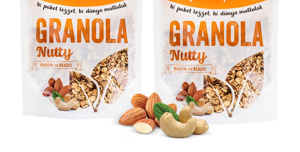2'li Paket - Granola Nutty Mix 350g
