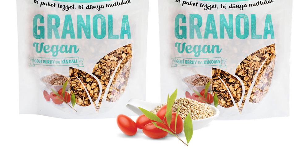 2'li Paket - Granola Vegan Mix 350g