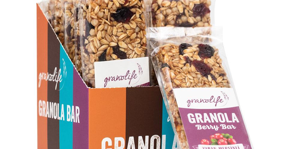 Granola Berry Bar 40 g. (10'lu kutu)
