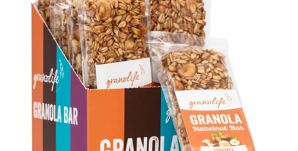Granola Fındıklı Bar 40 g. (10'lu kutu)