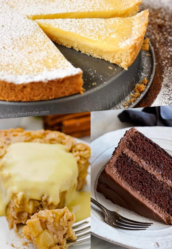 Mothers Day Desserts