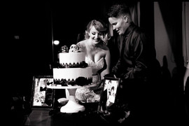 Ashley & Chelsey - Cake Cutting