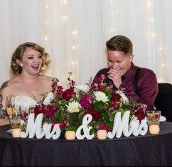 Ashley & Chelsey - Head Table
