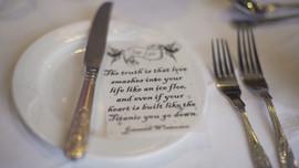 Springfort Hall Table Details