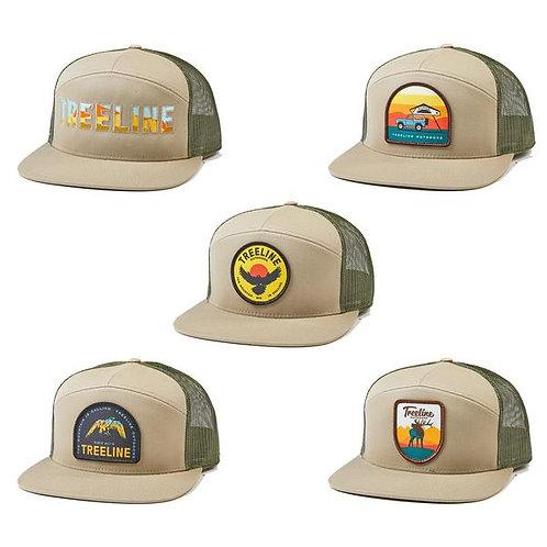 Treeline New School-Khaki/Loden Hat