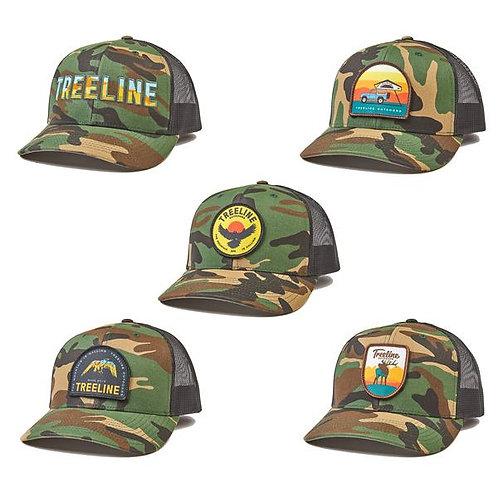 Treeline Camo Trucker Hat