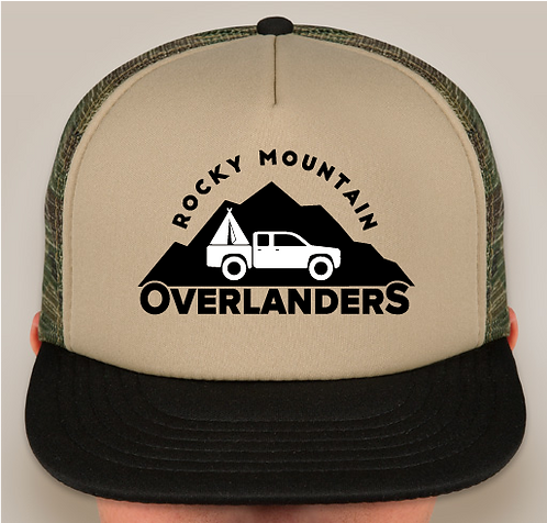 RMO Foam Camo Trucker Hat