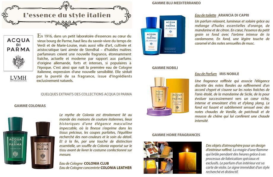 Acqua di Parma rare cosmetics Magus beauty salon Roquefort les Pins France