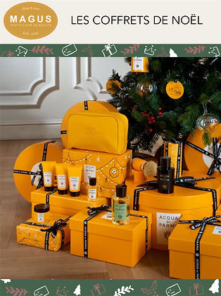Magus cadeaux coffrets  Noël cosmétiques parfums