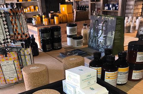 institut Magus Roquefort-les-Pins Davines cheveux Umaï shampoings secs