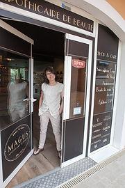 Magus top beauty salon Roquefort les Pins Experienced beautician experienced beautician