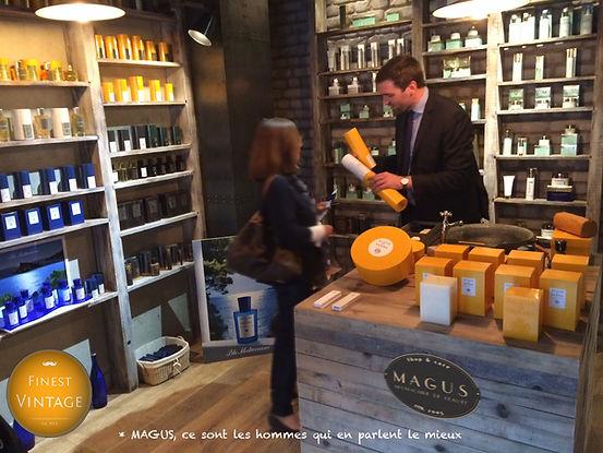 Salon de beaute parfumerie cosmetiques Magus Roquefort les Pins