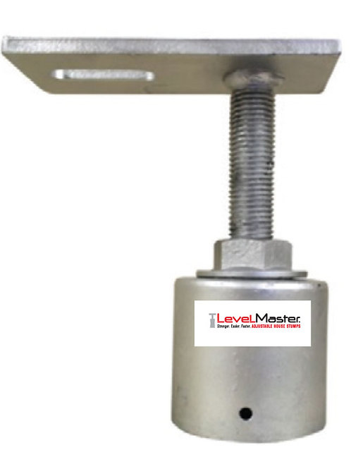 Screw on Square Pile Top - Slotted End Plate