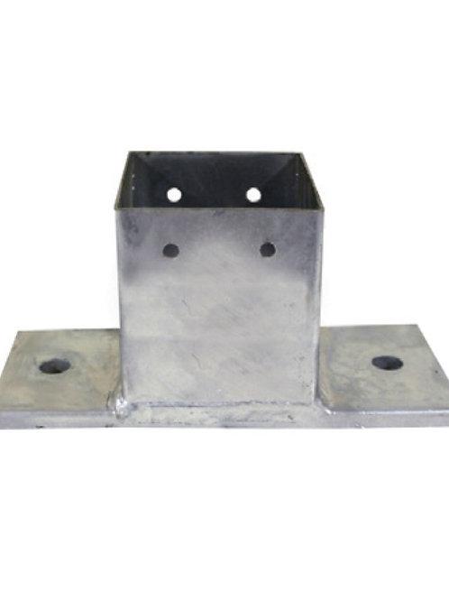 Bolt Down Post Base Plate - 200mmL
