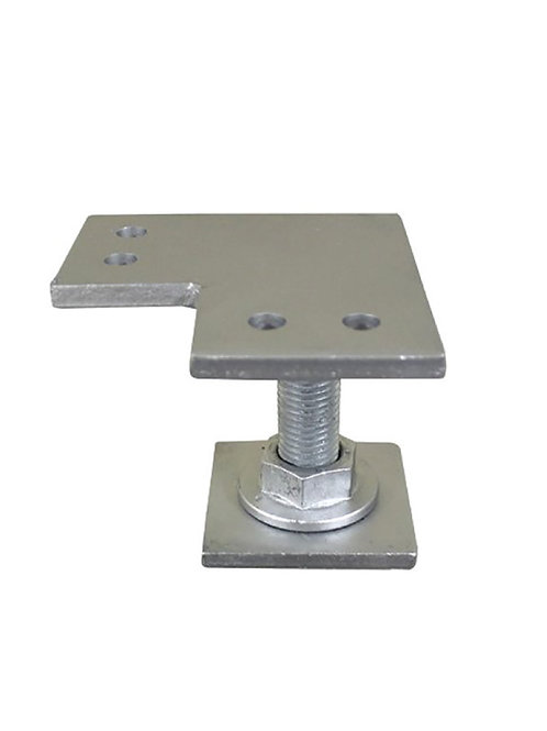 Weld on Pile Top - Corner Plate Large