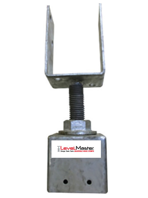 Screw on Square Pile Top - Stirrup Vertical 100