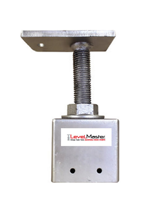 Screw on Square Pile Top - End of Bearer