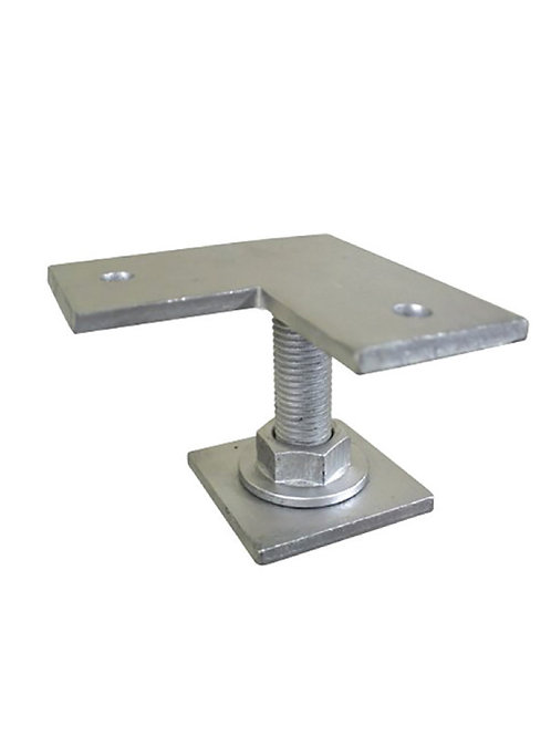 Weld on Pile Top - Corner Plate Small