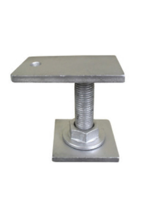 Weld on Pile Top - End of Bearer Plate