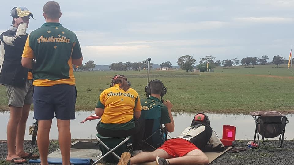 Australian Palma Team training at 1000ya