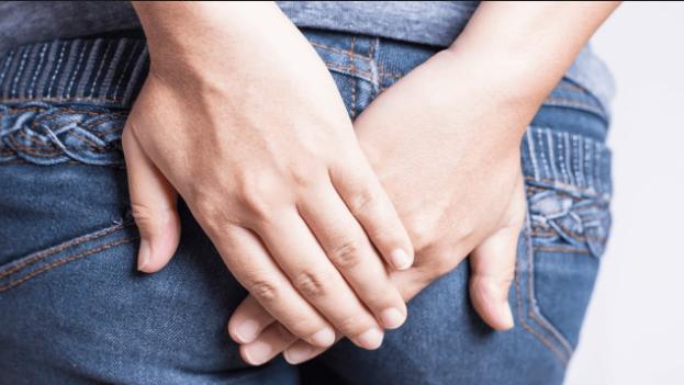 Рис. 2. Основной симптом трещины заднего прохода - это боль.