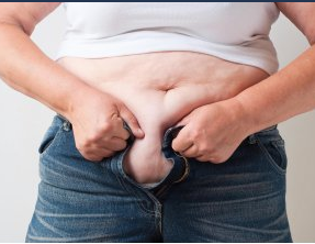 Рис. 3. Избыточный вес увеличивает риск появления полипов в прямой кишке.