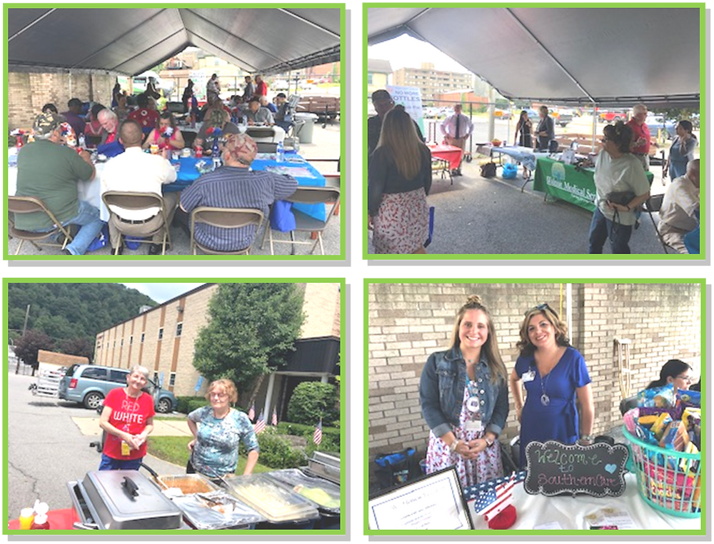 The Atrium, A Choice Community, Johnstown, Veterans Cookout 2