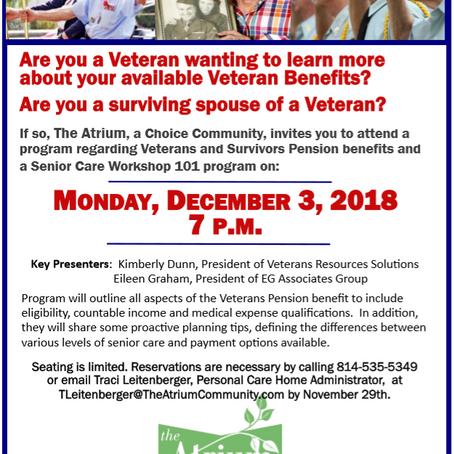 Veterans Benefits Program