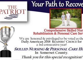 The Patriot Receives 2018 Readers' Choice Award for The Somerset Area
