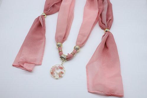 Collar Pashmina en tela Shifon