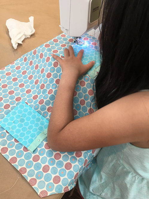 Sewing Camp_Session 8B: 1-4PM, 7/22-7/26