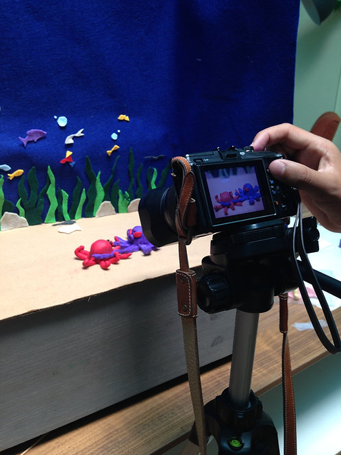 Claymation Camp_Session 1B: 1-4PM, 6/3-6/7